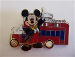 Disney Trading Pin 94527: WDW - Epcot® 30th Reveal/Conceal Mystery Collection - Double Decker Bus & Mickey ONLY