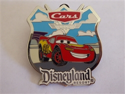 Disney Trading Pins Walt Disney Travel Company - Cars Land GWP - Lightning McQueen 2013