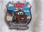 Disney Trading Pins 94835: DLR - AAA Travel Company - Cars Land GWP - Tow Mater 2013