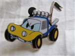 Disney Trading Pin 94919: Disney Characters as Cars - Donald Duck