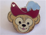 Disney Trading Pin 94936: WDW - 2013 Hidden Mickey Series - Duffy's Hats - Captain Hook