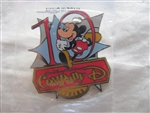 Disney Trading Pin 9496 WDW Cast Exclusive Company D 10th Anniversary Pin