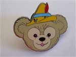 Disney Trading Pin 94982: DLR - 2013 Hidden Mickey Series - Duffy's Hats - Pinocchio