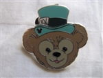 Disney Trading Pin 95121: DLR - 2013 Hidden Mickey Series - Duffy's Hats - Mad Hatter