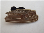 Disney Trading Pin 95129: WDW - 2013 Hidden Mickey Series - Boat Transportation - Friendship CHASER