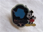 Disney Trading Pins 95281: WDW - 2012 Hidden Mickey Completer Pin - Continent Stamps Collection - Antarctica (PWP)