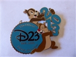 Disney Trading Pin 95535 D23 - 2013 Early Renewal Pin - Chip and Dale