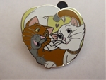 Disney Trading Pin 95869: Disney Couples - Mystery Pack - Thomas O'Malley and Duchess ONLY
