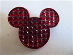 Disney Trading Pin 96259: Mickey Mouse Icon - Red Cubes
