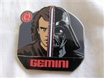 Disney Trading Pin 96539: Star Wars - Zodiac Mystery Collection - Gemini Anakin Skywalker/Darth Vader ONLY