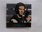 Disney Trading Pin 96540: Star Wars - Zodiac Mystery Collection - Aries Han Solo ONLY