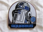 Disney Trading Pin 96544 Star Wars - Zodiac Mystery Collection - Aquarius R2-D2 ONLY