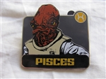 Disney Trading Pin 96546: Star Wars - Zodiac Mystery Collection - Pisces Admiral Ackbar ONLY