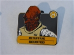 Disney Trading Pin  96627 Star Wars - Zodiac Mystery Collection - Admiral Ackbar Chaser ONLY