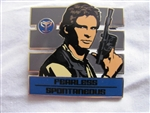 Disney Trading Pin 96628: Star Wars - Zodiac Mystery Collection - Han Solo Chaser ONLY