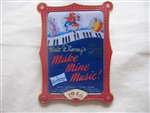 Disney Trading Pin   9664 12 Months of Magic - Movie Poster (Make Mine Music)
