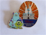 Disney Trading Pins 96770 Disney Visa© Cards from Chase- Cardmember Exclusive 2013 - Mike, Sulley & Castle