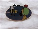 Disney Trading Pin 96798 D23 - 2013 Expo - Pixar Short Mystery Collection - Andre & Wally B ONLY