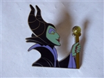 Disney Trading Pin 96865: Maleficent holding Staff with Stone