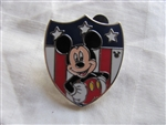 Disney Trading Pin 97198: WDW - 2013 Hidden Mickey Series - Patriotic Disney Characters - Mickey Mouse