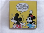 Disney Trading Pin 97547: Mickey Comic Mystery Set - Am I Missing The Game? Only