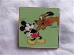 Disney Trading Pin 97554: Mickey Comic Mystery Set - Mickey & Pluto Onl