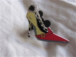 Disney Trading Pin 97737: Villain Shoes Cruella