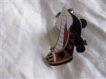 Disney Trading Pin 97738: Villain Shoes Queen of Hearts
