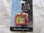 Disney Trading Pin 98606: WDW- Good Luck, Bad Luck - Belle