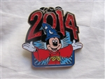Disney Trading Pin 99383: 2014 Sorcerer Mickey Sparkle Open Arms