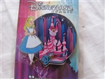 Disney Trading Pins 99409: DLP - Disney Dreams - Alice in Wonderland and Cheshire Cat