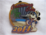 Disney Trading Pins 99523: DCL 2014 Castaway Cay with Captain Mickey