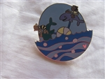 Disney Trading Pins 99648: DLR – 2014 Hidden Mickey Completer Pin Hidden Mickey Series – Mickey's Toontown Pinwheels – Fish