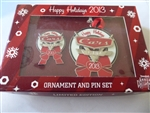 Disney Trading Pins  99675 DLR - Cars Land Happy Holidays 2013 - Annual Passholder Ornament & Pin Set