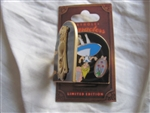 Disney Trading Pins 99693: Keyhole Characters - Alice in Wonderland