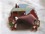 Disney Trading Pins 99720: 2013 Disney Chip and Dale Turkey Leg Pin