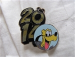 Disney Trading Pin 99742: 2014 DLR / WDW 7 pin Booster Set - Pluto only