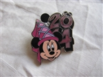 Disney Trading Pins 99744: 2014 DLR / WDW 7 pin Booster Set - Minnie only