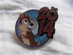 Disney Trading Pin 99750: 2014 DLR / WDW Mystery Collection - Chip
