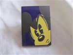 Disney Trading Pin 99857: Hipster Themed D-Tour Mini Pin Set - Mickey Face ONLY