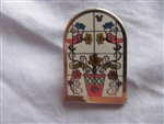 Disney Trading Pin 99917: DLR - 2014 Hidden Mickey Series - DCA Tile Murals - Floral
