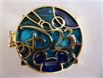 Disney Trading Pin  99950 D23 - Stained Glass - 2014 - Walt Disney - WDW Version