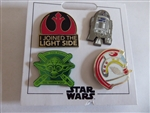 Disney Trading Pin Star Wars Light Side Booster