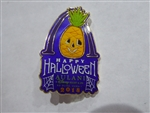 Disney Trading Pin Aulani Halloween 2018 Pin - Pineapple Jack-o-Lantern