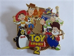 Disney Trading Pins Disney Employee Center DEC Toy Story 2 Cluster