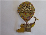 Disney Trading Pin DEC UP 10th Anniversary Pin