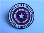 Disney Trading Pin Marvel The Falcon and the Winter Soldier Wield the Shield