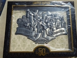 Disney Trading Pin Haunted Mansion 50th Anniversary Super Jumbo Collage