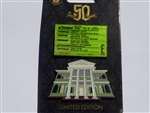 Disney Trading Pin  Haunted Mansion 50th Anniversary E-Ticket Attraction Facade