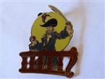 Disney Trading Pin  WDW - Adventures on the 7 Seas Lagoon - Frame Set - barbossa only